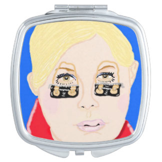 Designer Bags For That Insomniac Compact Mirror