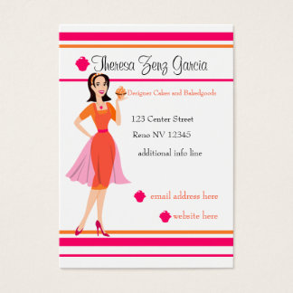 Designer Bakedgoods Business Card