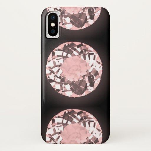 Designer black iPhone / iPad case
