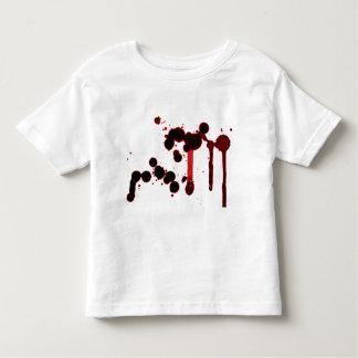 Designer Blood Splatter Toddler T-shirt
