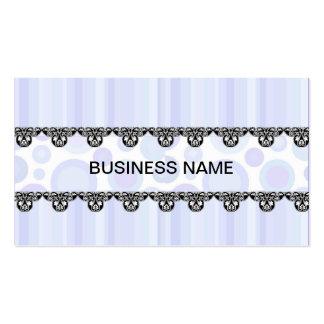 DESIGNER BLUE BUSINESS CARD TEMPLATE