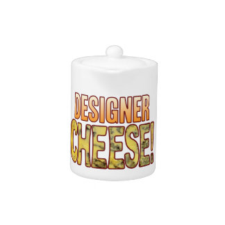 Designer Blue Cheese Teapot