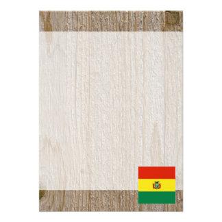 Designer Bolivia Flag Box Card