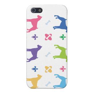 Designer Boxer Print iPhone 5/5S Cases
