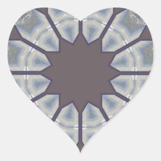 Designer Brown Diamond Series Tile.png Heart Sticker