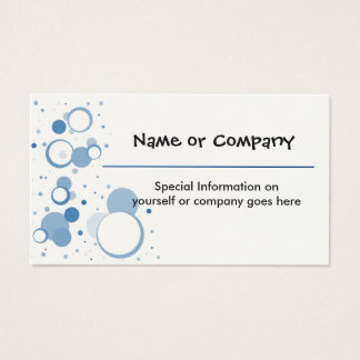 Designer Busines or Profile Cards