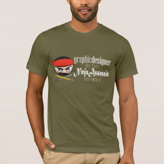 Designer By Day, Ninja By Night T-Shirt