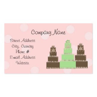 Designer Cakes Business Card