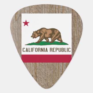 Designer California Flag Box Guitar Pick