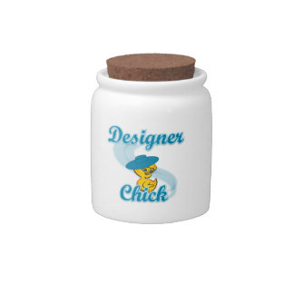 Designer Chick #3 Candy Dishes