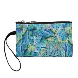 Designer Clutch Bag - Abstract