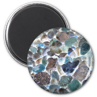 Designer Collection Pebble Beach by Sherri 2 Inch Round Magnet