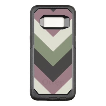 Professional Business Designer Color Chevron Pattern OtterBox Commuter Samsung Galaxy S8 Case