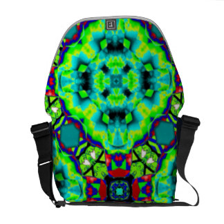 Designer Colourful 'cosmic' commuter bag