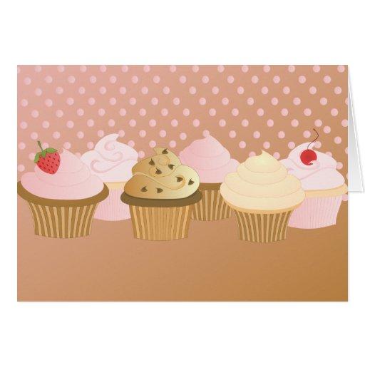 Designer Cupcakes Card