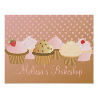 Designer Cupcakes Posters