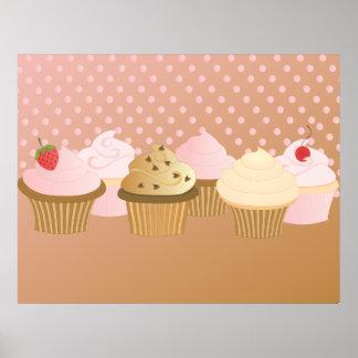 Designer Cupcakes Poster