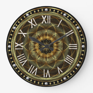 Designer Diamond Roman-2 Best view large Large Clock