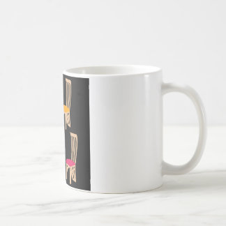Designer dining chair coffee mug