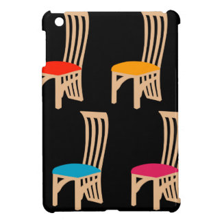 Designer dining chair cover for the iPad mini