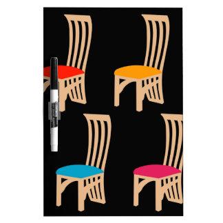 Designer dining chair Dry-Erase whiteboards