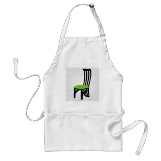 Designer dining chair graphic adult apron