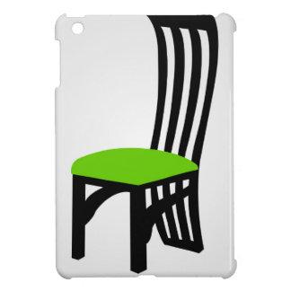 Designer dining chair graphic iPad mini cases