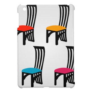 Designer dining chair graphic iPad mini cover