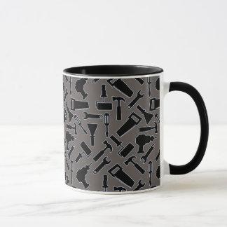 Designer DIY Tools Vector Pattern Mug
