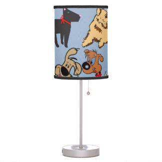 Designer Doggy Table Lamp - Fun Room Design