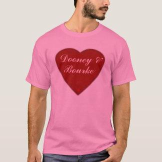 """Designer Dooney & Bourke """"Heart Of Love"""" tee"""