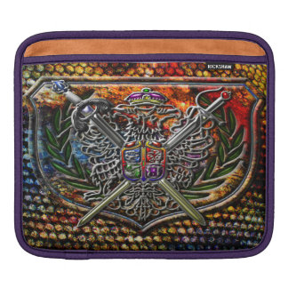 Designer Edition Double Eagle Shield Crest Sleeve For iPads