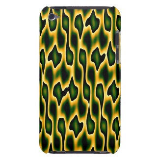 Designer Emerald Snakeskin Barely There iPod Covers