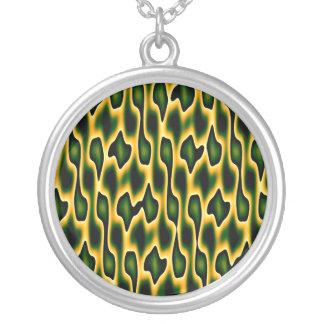 Designer Emerald Snakeskin Necklaces