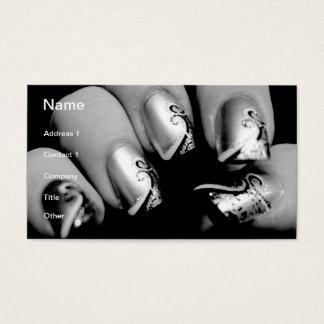 Designer Fingernails Business Card
