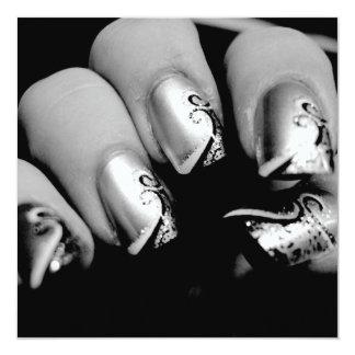 Designer Fingernails Card