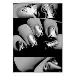 Designer Fingernails Greeting Card