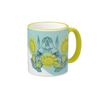 Designer Flower Mug