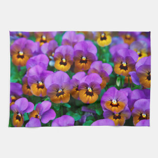 Designer Flower Tea Towel