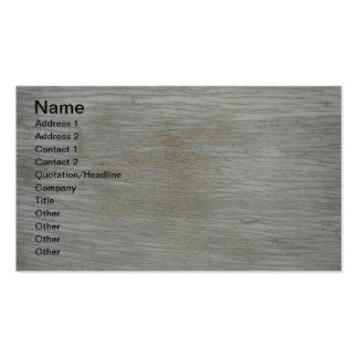 Designer Gray Barn Wood Grain Business Cards