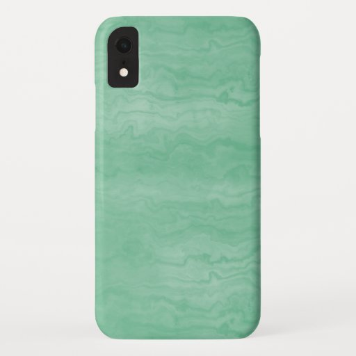 Designer Green Marbled IPhone XR Case