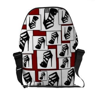 Designer High heel shoulder bag Courier Bags