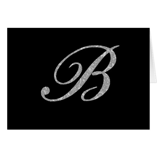 Designer Initial note cards