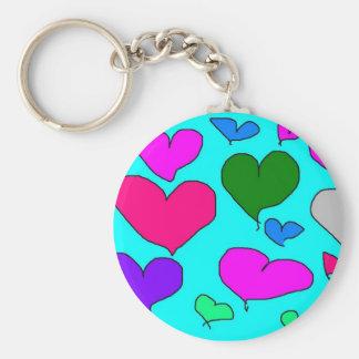 Designer J fan club item Basic Round Button Keychain