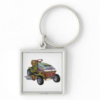 Designer Lawnmower Keychain