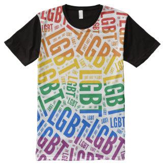 Designer LGBT Pride All-Over-Print T-Shirt