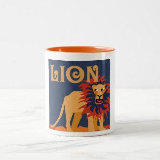 Designer Lion Coffee Mug