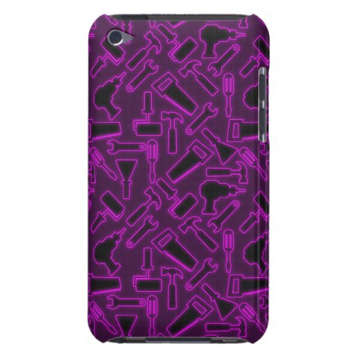 Designer Luminous DIY Tools Vector Pattern Barely There iPod Case