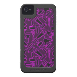 Designer Luminous DIY Tools Vector Pattern Case-Mate iPhone 4 Case
