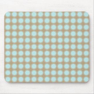 Designer-Modern-Classic's-Aqua-Beige-Unisex Mouse Pad